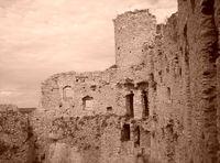 Ruins - Sepia