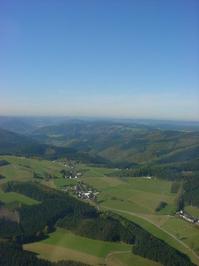 Western Germany skyline
