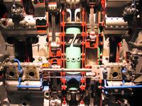 old diesel airplane engine