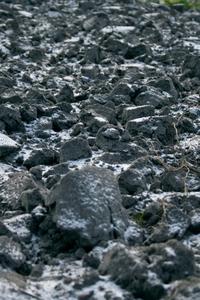 Soil - nodule - hoarfrost