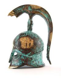 Greek helmet 1