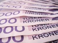 1000 kroner bills