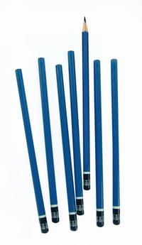 lotsa blue pencils