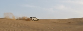 Dune bashing 1