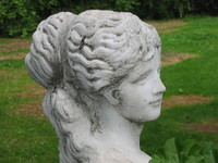 A sculpture in Zamoyscy Palace