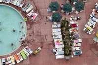 Wyndham Pool Area