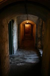 Down the dark corridor