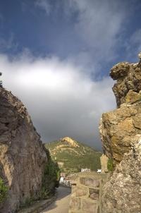 mining town landscape