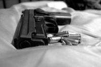 Black and White Gun