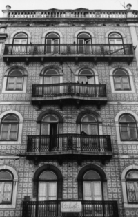 Old portuguese building
