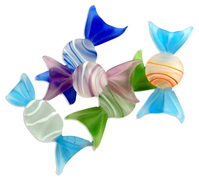 glass lollies