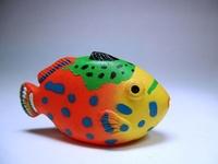 Colourful Plastic Fish