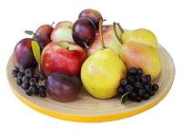 fresh fruits on white photo file 2