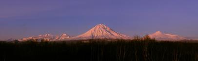 Mountain in Kamchatka, Russia