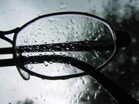 Glasses in Rain