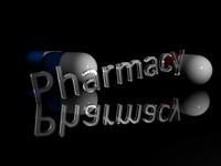 Pills 3D Render 3