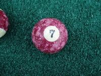 Old Pool Table Balls 7