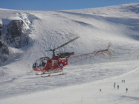 Rescue Helicopter Zermatt