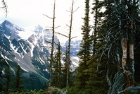 Mountains above Lake Louise