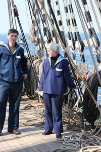 Sedov sailing ship 13