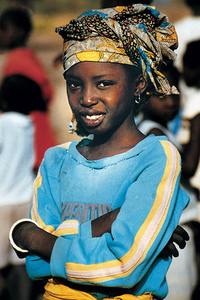 Gambian Girl 2
