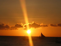 sunset and boat 3