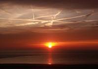 Sunset Borkum