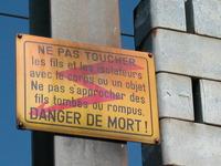 rail signs