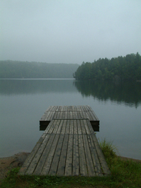 Macdonald Lake Dock