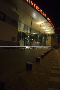 Hospital by night