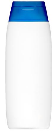 White Body Lotion Bottle