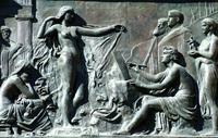 Bronze carving/sculpture