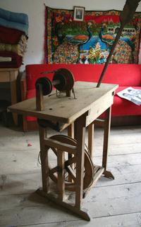 Wool spinning mechanism