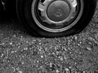 Tires (B & W)