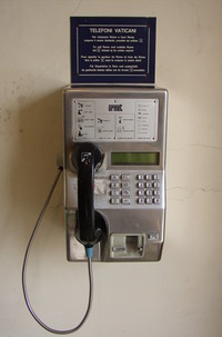 vatican phone