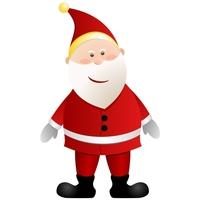 Christmas Elements - Santa 2