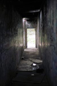 scary dairy hallway