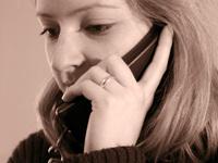 Phoned woman I