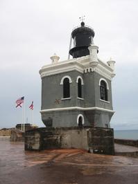 The lighthouse of Fort San Felipe del Morro