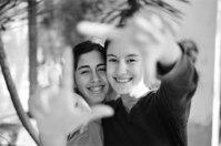 mi hermana y la amiga MAGUI