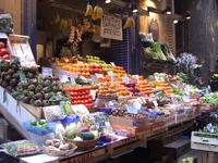 Old style street market
