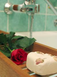 Romantic wellness bath