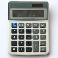 a closeup of a desk calculator 5