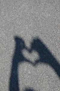 heart in shadow
