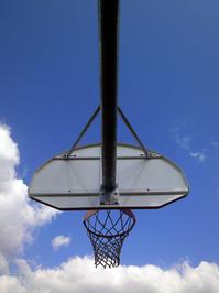 Basketball court at summer 4