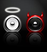 Speaker Angle Vs. Devil