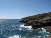 Volcanic rocks in Hawaii