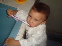 Brushing teeth 4