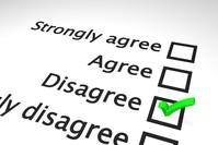 Agreement survey scale 3
