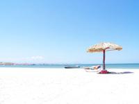 Sombrilla en la playa